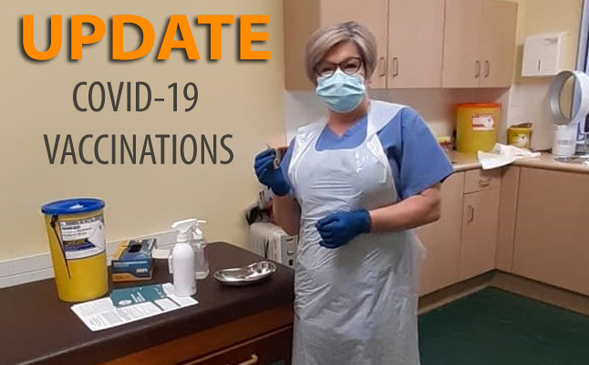 Covid-19 Vaccinations Update